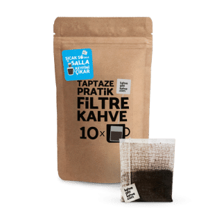 10'lu Pratik Filtre Kahve – Klasik