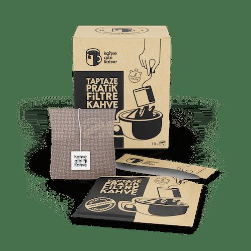 Pratik Filtre Kahve 10'lu Klasik Paket