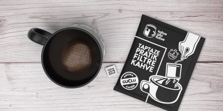Kolay filtre kahve yeni paketinde